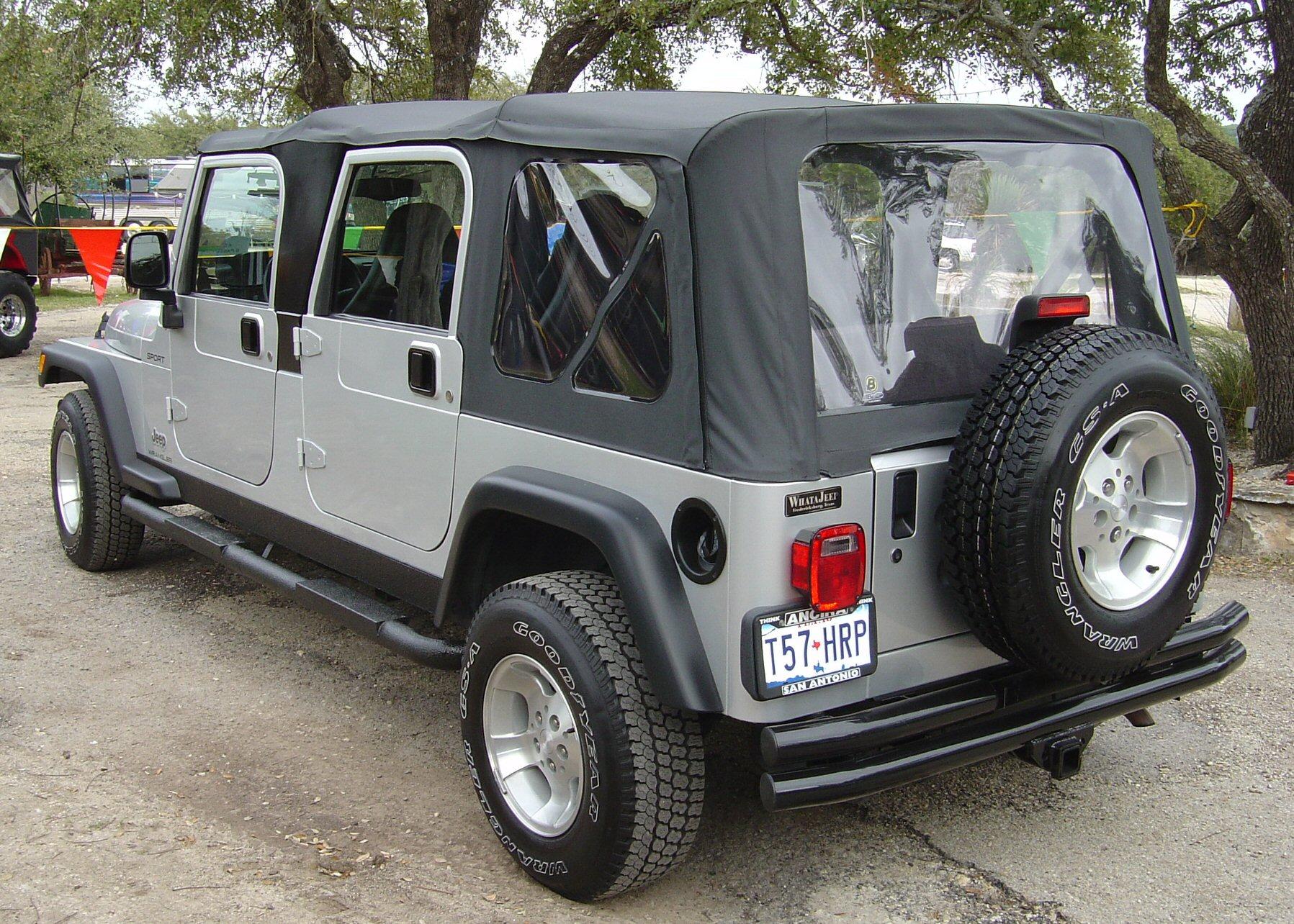 Самодельный РэнгБывает и такое бортжурнал Jeep Wrangler